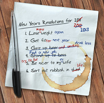 New Year Goals and Resolutions