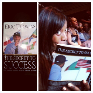 Eric Thomas Secret To Success Book